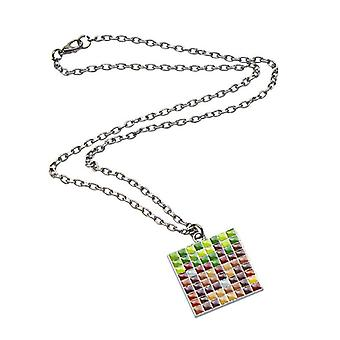 Minecraft Necklace - Bloc de la Terre
