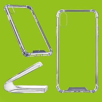 עבור Apple iPhone XR 6.1 אינטש במקרה סיליקון TPU הגנה שקוף תיק מקרה מקרה הכיסוי אביזרים חדשים