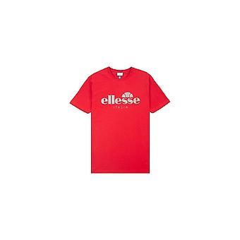 Ellesse Lucchese punainen puuvillainen T-paita