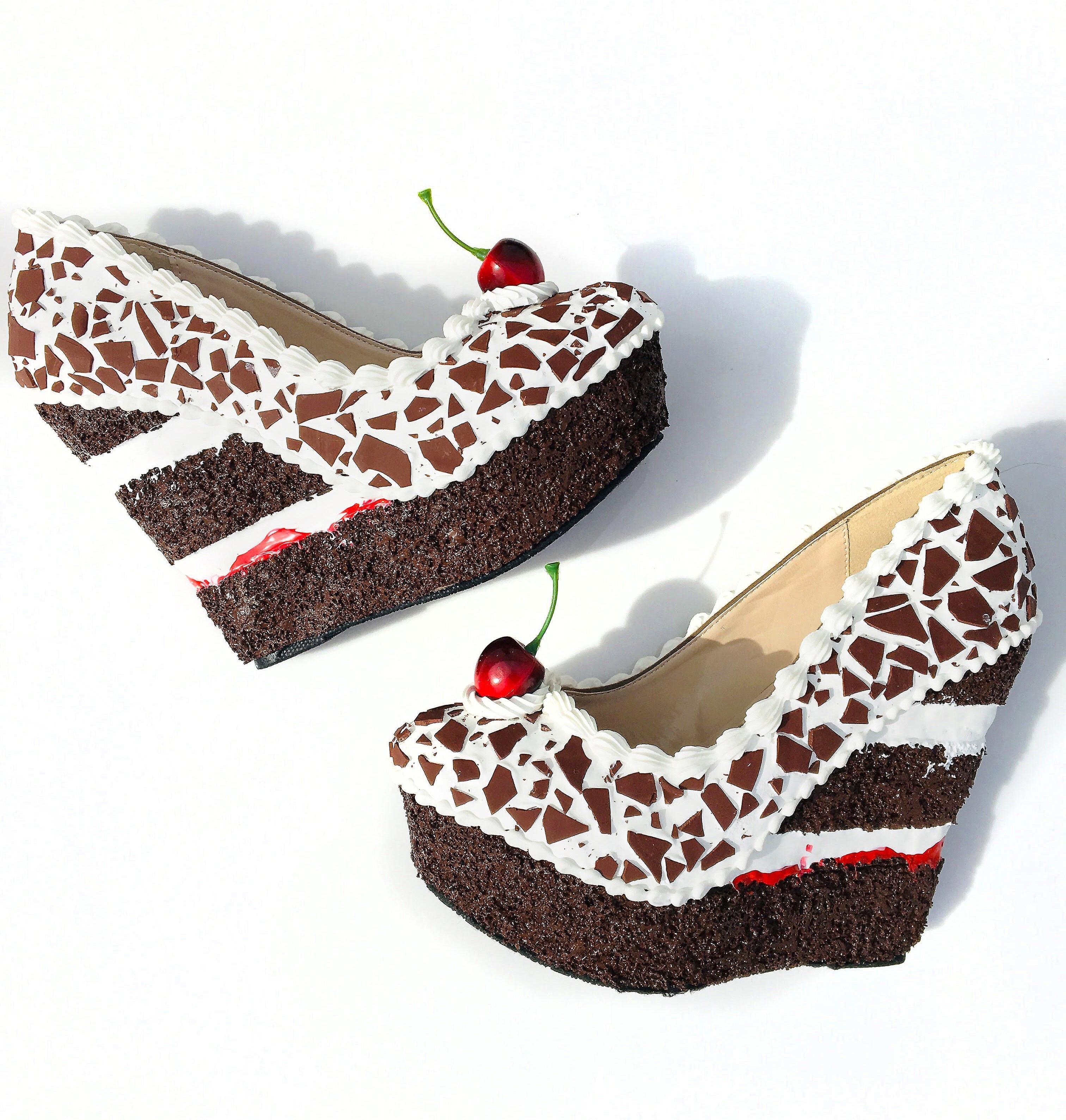 Black Forest Cake Wedge 5.5