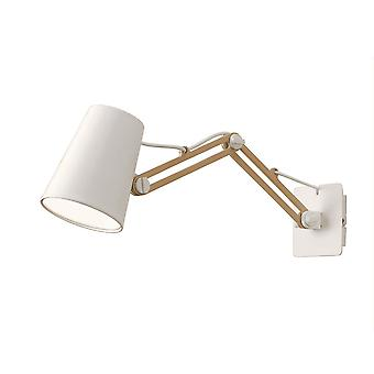 Mantra Looker Adjustable Double Arm Switched Wall Light