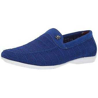 Stacy Adams Mens Ciran Fabric Low Top Pull On Fashion Sneakers
