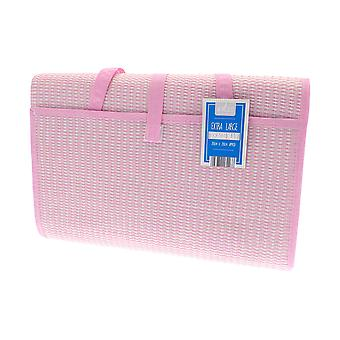Country Club XL Beach Mat, Pink 200 x 200cm
