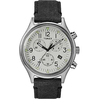 Timex MK1 Steel Military Style Fabric Chronograph Mens Watch TW2R68800
