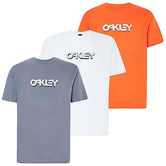 Oakley Herren Stein B1B Logo Kurzarm leicht T-Shirt