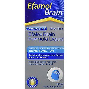 Efamol Efalex Brain DHA Rich Formula Lemon + Lime Flavoured Liquid Omega-3