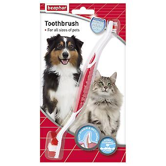 Beaphar Toothbrush (Dogs , Grooming & Wellbeing , Dental Hygiene)