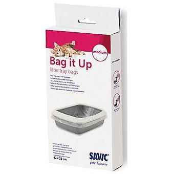Savic Sacos Higiénicos (Gatos , Pêlo e higiene , Acessórios sanitários)