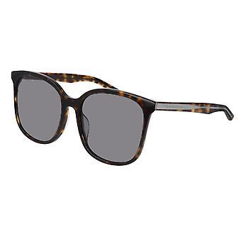 Balenciaga BB0018SK 003 Grey/Silver Mirror Sunglasses