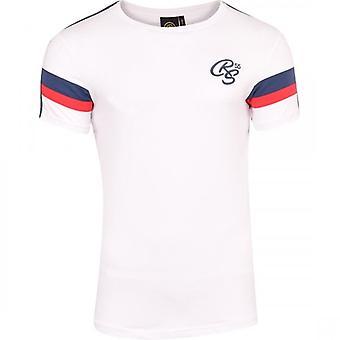 Crosshatch Mens Designer CRS Short Sleeve Crew Neck Round T Shirt Top