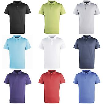 Le premier ministre unisexe Coolchecker cloutés Plain Polo Shirt