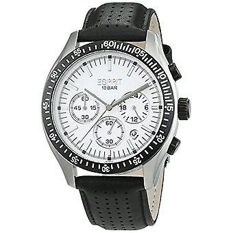 ESPRIT Uhren, Männlich, analog, schwarz Leder strap (3)