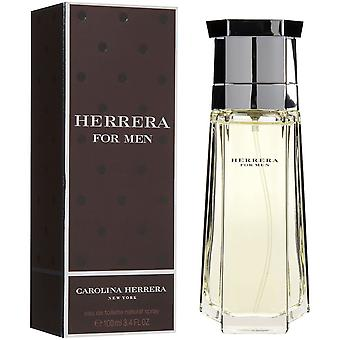 Carolina Herrera Herrera per Men Eau de Toilette Spray 100ml