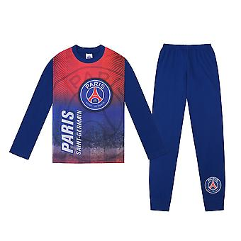PSG Official Football Gift Boys Sublimation Lange Pyjamas