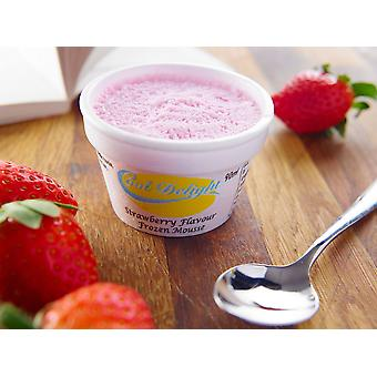 Cooldelight Strawberry Frozen Mousse Insulated Cups