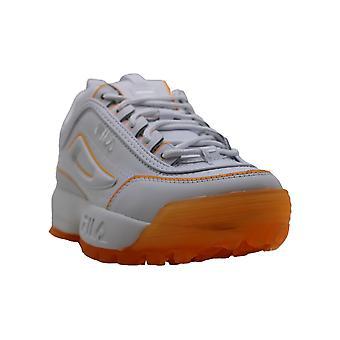 Fila Womens Disruptor II Ice Low Top Lace Up Fashion Sneakers