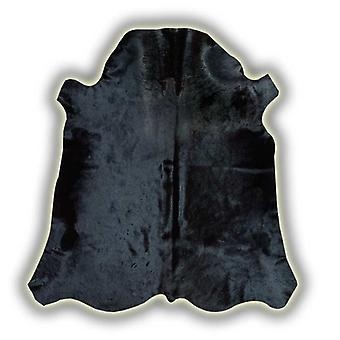 Rugs -Normandy Leather Cowhide - Black