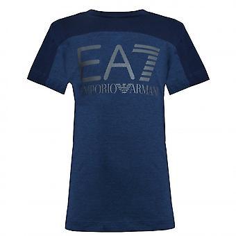 EA7 Boys Emporio Armani Boy's Navy Blue T-Shirt