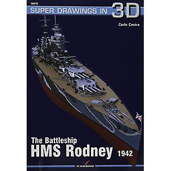 The Battleship HMS Rodney by Carlo Cestra - 9788366148284 Book