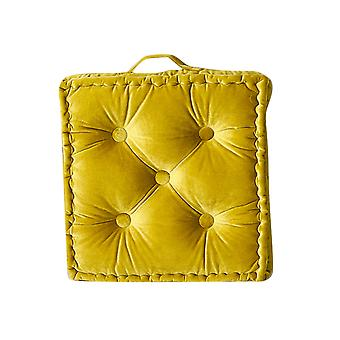 Yellow Square cushion