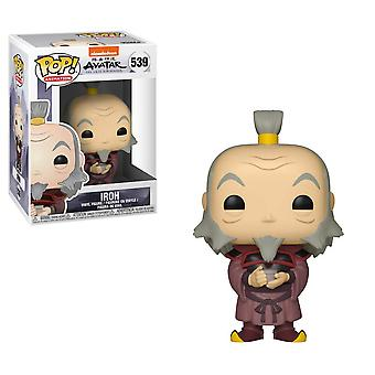 Avatar the Last Airbender Iroh with Tea Pop! Vinyl