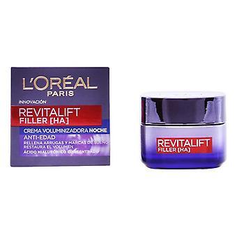 Nachtcrème Revitalift Filler L'Oreal Make Up