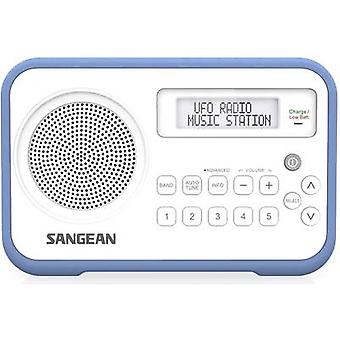Sangean DPR-67 Portable radio DAB+, FM Battery charger White, Blue