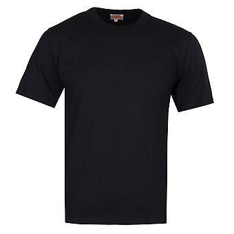 鎧のルクス ジャージー クルー ネック t シャツ ブラック