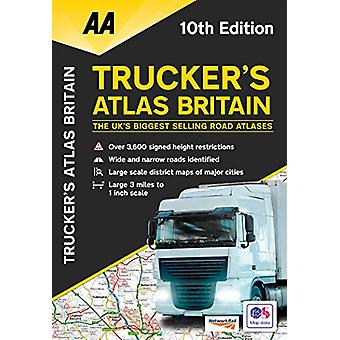 Trucker's Atlas Britain - 9780749581992 Book