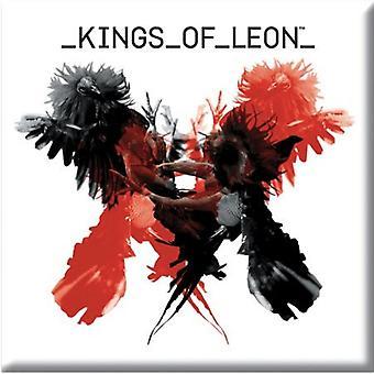 Kings of Leon Kühlschrank Magnet uns Album bedecken neue offizielle 76 x 76 mm