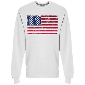 American Flag, Cool Design Sweatshirt Men's -Image by Shutterstock