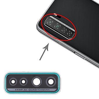 Copertura lente fotocamera per Huawei P40 Lite 5G Cam verde lente riparazione accessori di riparazione accessori di riparazione
