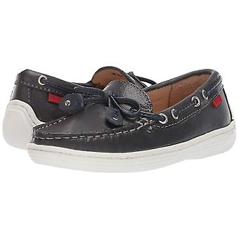 MARC JOSEPH NEW YORK Kids' Leather Boys/Girls Casual Comfort Slip on Moccasin...
