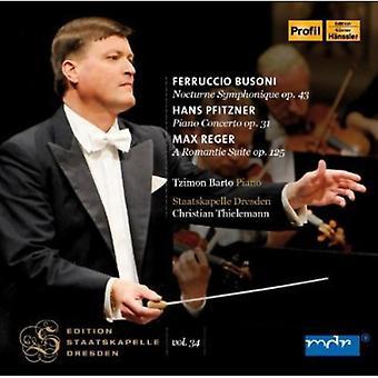 Busoni/Pfitzner/Reger - Busoni: Nocturne Symphony [CD] USA import