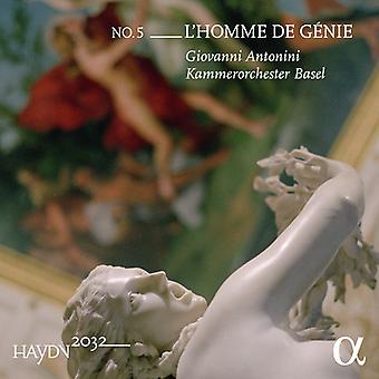 Haydn / Antonini - L'Homme De Genie [CD] Usa import