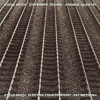 S. Reich - Steve Reich: Electric Counterpoint; Different Trains [CD] USA import
