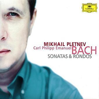 C.P.E. Bach - C.P.E. Bach: Sonatas and Rondos [CD] USA import