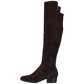Aerosoles Womens Cross Country Suede Closed Toe Knee High Fashion Boots