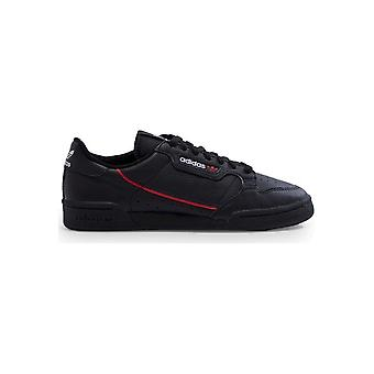 Adidas - Shoes - Sneakers - G27707_Continental80 - Unisex - black,red - UK 6.0