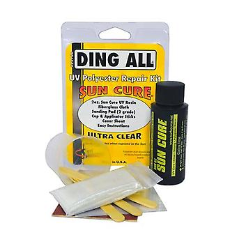 Ding all - sun cure polyester repair kit