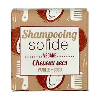 Solid shampoo for dry hair - Vanilla - Coco 55 g