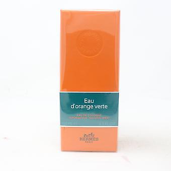 Eau D'orange Verte van Hermes Eau De Cologne 3.3oz/100ml Spray Nieuw met Doos