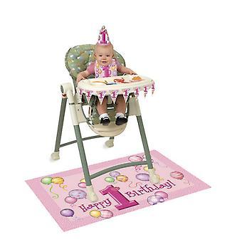 فريدة من نوعها الطرف طقم كرسي عال عيد ميلاد 1