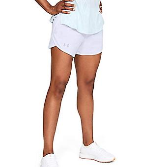 Under Armour Women's Fly By 2.0 Running Shorts , White (100)/Reflective , Med...
