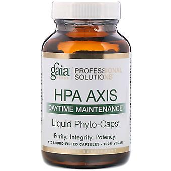 Gaia Herbs Professional Solutions, HPA Axis, Daytime Maintenance, 120 Liquid-Fil