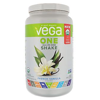 Vega, One, All-in-One Shake, French Vanilla, 1.51 lbs (689 g)