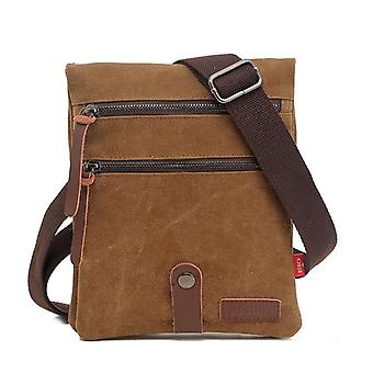 Double-layer special dual-use crossbody messenger bag