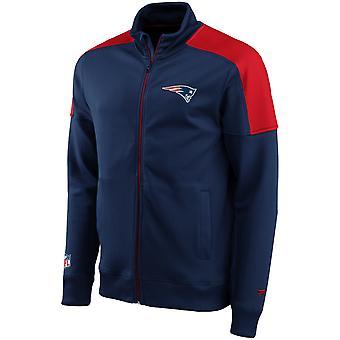 New England Patriots ICONIC Track Jacket navy