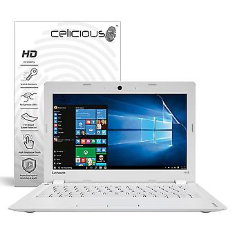 Celicious Vivid Invisible Glossy HD Screen Protector Film Compatible with Lenovo IdeaPad 110S (11) [Pack of 2]