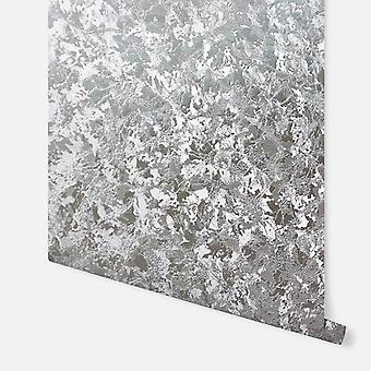 294301 - Velvet Crush Foil Silver - Arthouse Wallpaper
